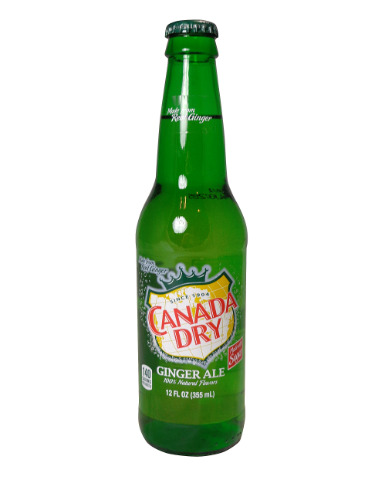 Canada Dry Glass Bottle