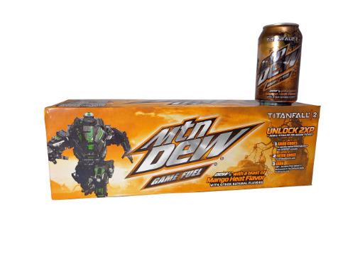 12 Pk Mtn. Gamefuel Titan Fall 2 Mango