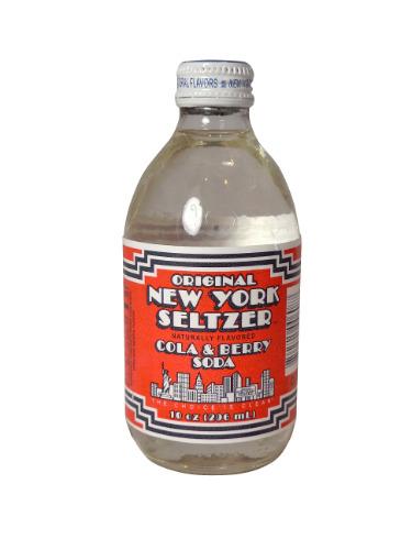 NY Seltzer Cola & Berrry