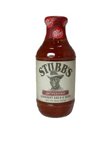 Stubb's Dr Pepper BBQ Sauce
