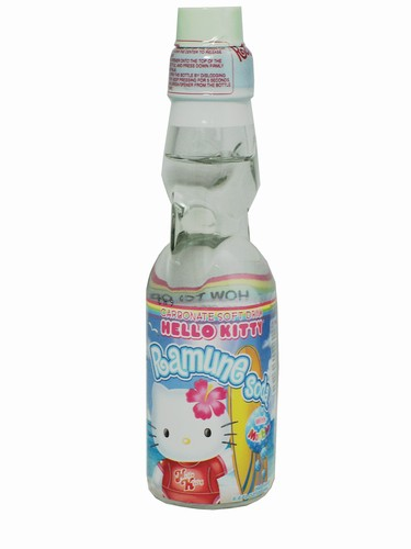 FRESH 4 Pk 6.7oz Hello Kitty Ramune soda - Soda Emporium ...