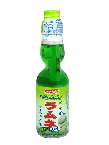 FRESH 4 Pk 6.7oz Melon Ramune soda - Soda Emporium | Buy ...