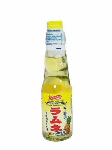 FRESH 4 Pk 6.7oz Pineapple Ramune soda - Soda Emporium ...