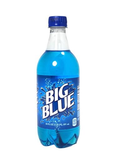 Fresh 6 Pk 20oz Big Red Big Blue Cream Soda Soda