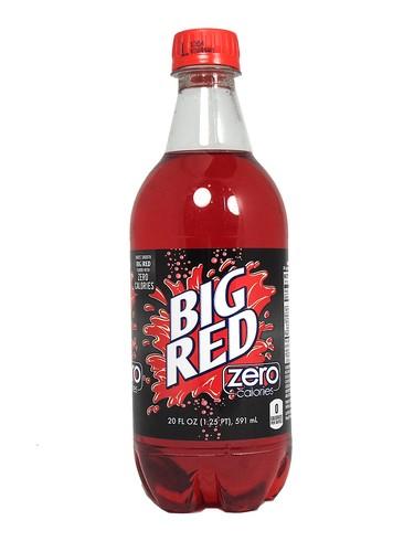 Fresh 20oz Diet Big Red Zero Soda Soda Emporium Buy
