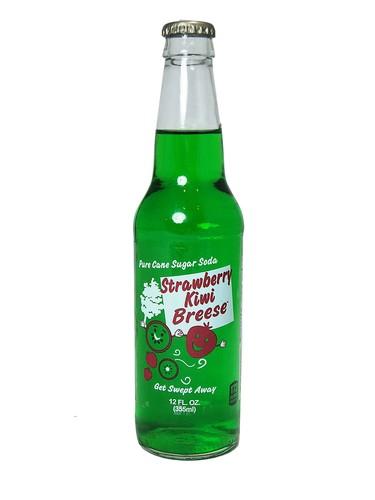 FRESH 12oz Breese Strawberry Kiwi soda - Soda Emporium | Buy Soda Pop ...