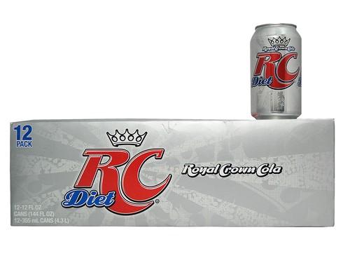 12 Pk Diet RC Royal Crown Cola Soda