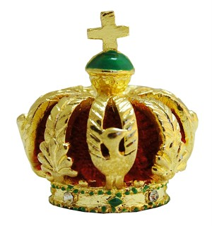 Miniature Crown of Empress Eugenie France - karams