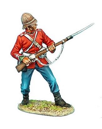 First Legion ZUL004: British 24th Ready with Bayonet