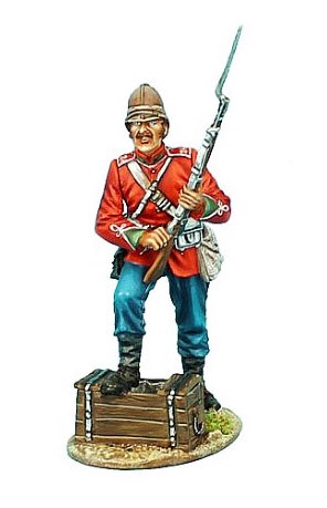 First Legion ZUL007: British 24th Foot Standing Loading Variant #1