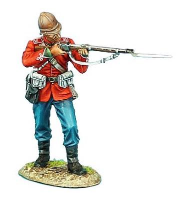 First Legion ZUL009: British 24th Foot Standing Firing Variant #1