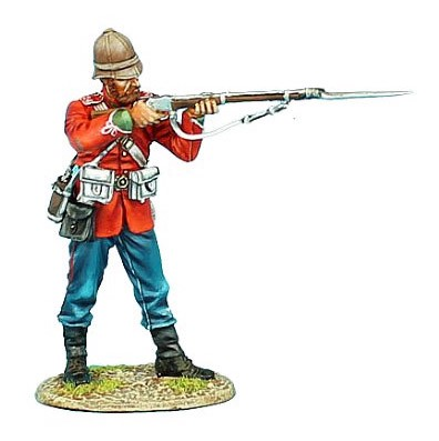 First Legion ZUL012: British 24th Foot Standing Firing Variant #2