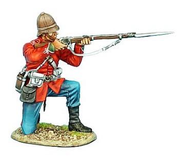 First Legion ZUL013: British 24th Foot Kneeling Firing Variant #1