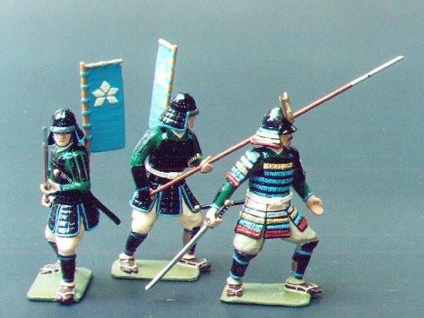 Monarch Regalia SAM8: Shimazu Clan Samurai (as in set 218)