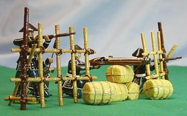 Monarch Regalia 271: Ishida Artillery - gunner, helper, firing, kneeling firing, + accessories