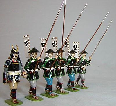 Monarch Regalia SAM18: Kuroda Clan Samurai (as in set 275)