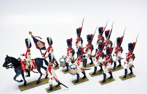 Lucotte 025: 3e Regiment de Grenadiers (ex. Hollandais) - CAV1/INF12