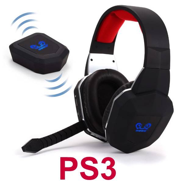 wireless gaming stereo headset for ps3 playstation 3 game. Black Bedroom Furniture Sets. Home Design Ideas