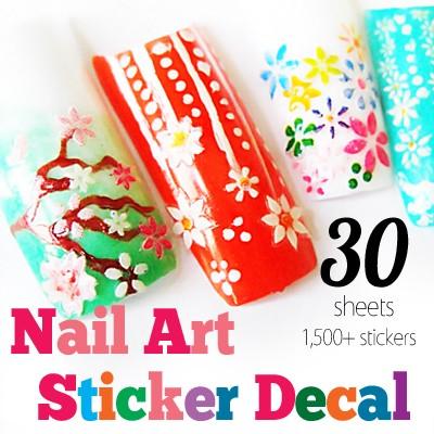 54187-MY18-THUMB 30pcs nail art sticker set.jpg 6/20/2011