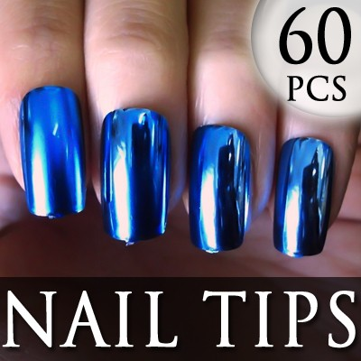 54205-2-THUMB 60pcs metallic false nail full tips.jpg 12/11/2011