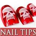 Thumb_54202-6-THUMB 24pcs Pre-Design metallic false nail full tips.jpg 12/12/2011