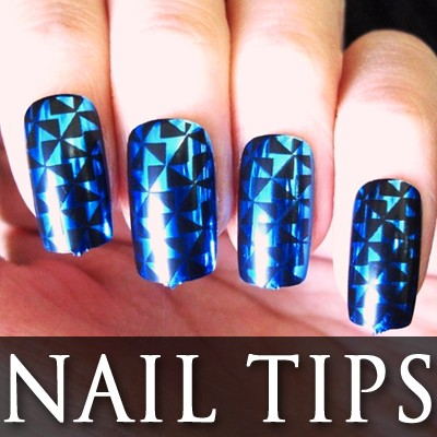 54202-2-THUMB 24pcs Pre-Design metallic false nail full tips.jpg 12/12/2011
