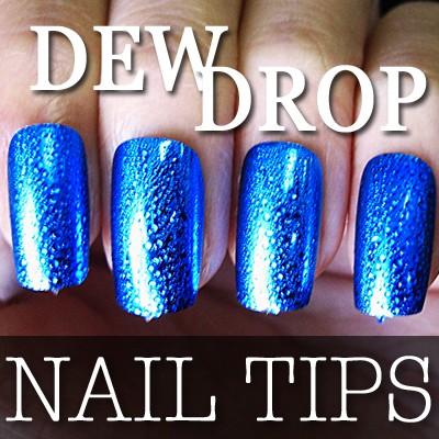 54204-3-THUMB 60pcs metallic water drop  false nail full tips.jpg 12/14/2011