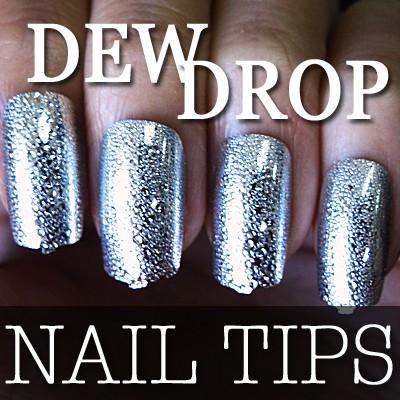 54204-4-THUMB 60pcs metallic water drop  false nail full tips.jpg 12/14/2011