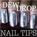 Thumb_54204-4-THUMB 60pcs metallic water drop  false nail full tips.jpg 12/14/2011