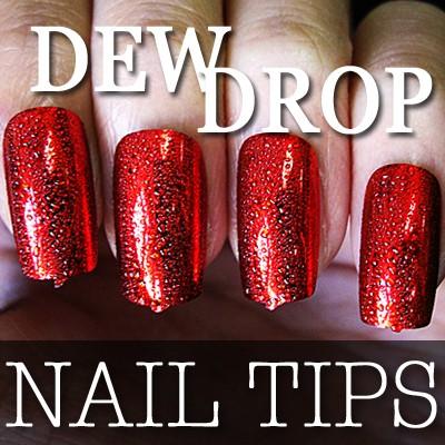 54204-5-THUMB 60pcs metallic water drop  false nail full tips.jpg 12/14/2011