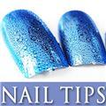 Thumb_54203-5-THUMB 24pcs metallic water drop  false nail full tips.jpg 12/14/2011