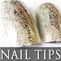 Thumb_54203-3-THUMB 24pcs metallic water drop  false nail full tips.jpg 12/14/2011
