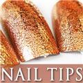 Thumb_54203-1-THUMB 24pcs metallic water drop  false nail full tips.jpg 12/14/2011