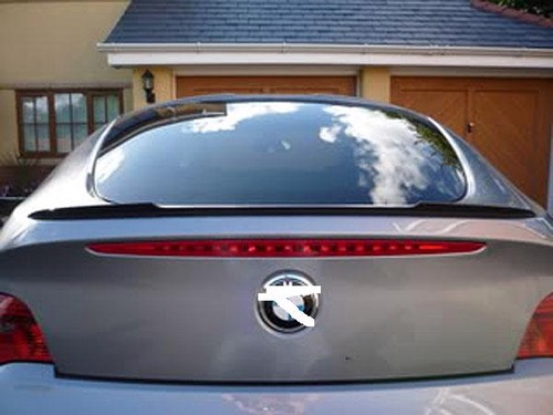 Unpainted Fiberglass Rear Trunk Deck Spoiler For 2003 2008 Bmw Z4 E85 E86 Jp Carbon
