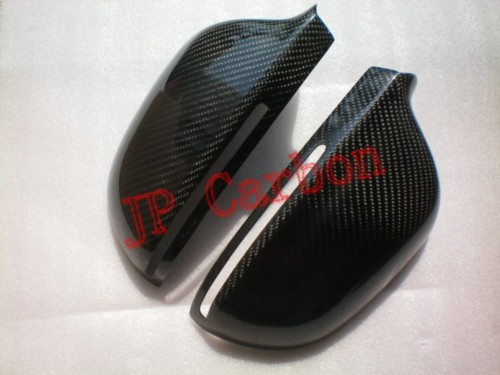 Audi A4 B8 2009 Carbon Fiber Mirror Covers