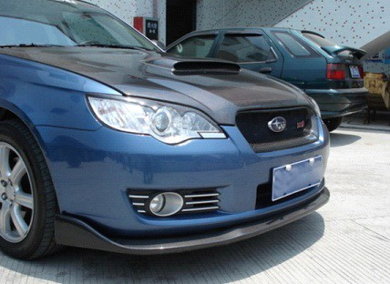 Carbon Fiber Front Lip Spoiler Splitter For 2003 2008 Subaru Legacy Liberty Jp Carbon