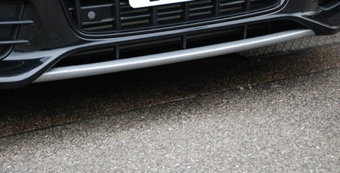 Audi A4 B8 2008-UP Carbon Fiber Front Lip Decoration