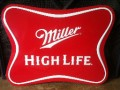 Miller High Life Tin Tacker Sign.jpeg