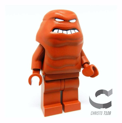 Custom Lego Clayface - Custom Brick And Minifig