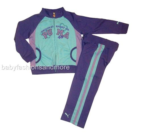 Baby Puma Clothes Puma baby girls 2 pc outfit