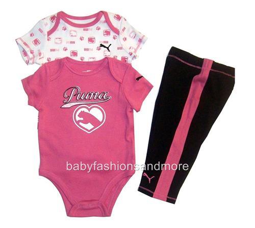 Baby Puma Clothes Baby girls Puma clothes set