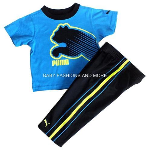 Baby Puma Clothes Puma baby boys 2 pc outfit