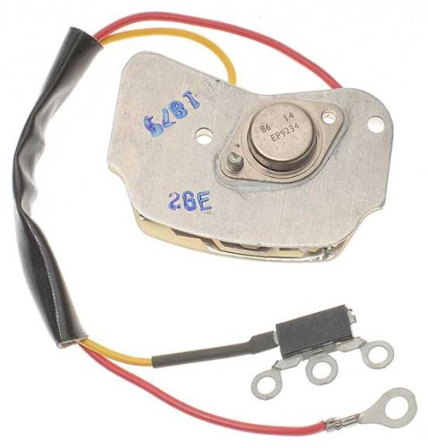 chevy astro voltage regulator location