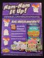 Magazine Ad for Ham-Ham Hamtaro Toys, Heinz, 2003