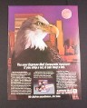 Magazine Ad for USPS Express Mail, 1984, Express Mail Corporate Account
