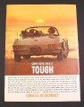 "Magazine Ad for Chevrolet Corvette, ""Some Guys Have it Tough"""