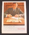 Magazine Ad for Sheaffer Desk Set,
