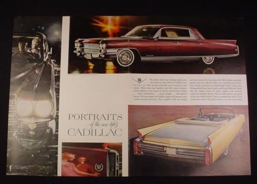 Magazine Ad for 1963 Cadillac Car, 1962, Fleetwood, Eldorado Convertible
