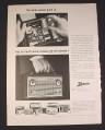 Magazine Ad for Zenith Portable Radios, 1963, Royal 710
