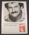 "Magazine Ad for Wheaties Cereal, 1984, ""Now go tell your Momma"